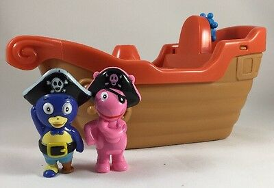 The Backyardigans Exclusive Playset Pirate Ship Tub Time
