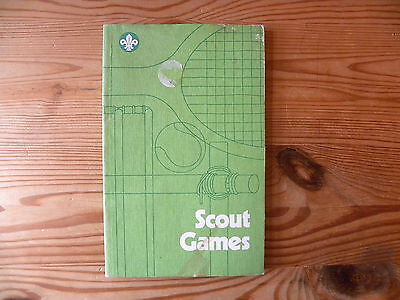 """UK Scouting Book """"Scout Games"""" 1985"""
