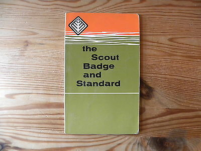 """UK Scouting Book """"The Scout Badge and Standard Badge Book"""" 1967"""