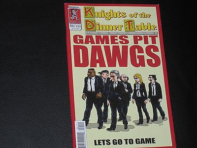 Knights of the Dinner Table Nr. 221 GAMES PIT DAWGS Let´s Go To Game SUPER Comic