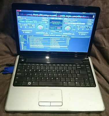 Dell inspiron Karaoke laptop computer with virtual dj software and windows 7