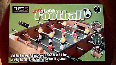Red 5 Mini Table Football Game