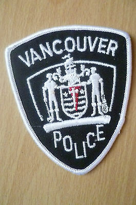 Patches: VANCOUVER POLICE PATCH (NEW* apx.9x7.5 cm)