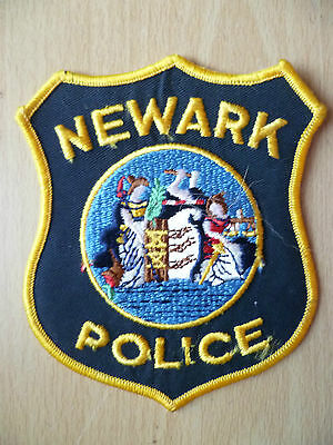 Patches: NEWARK NEW JERSEY POLICE PATCH (NEW,apx.4.14x4 inch)