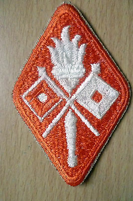 Patches- UK Army Signal Corps Shoulder Patch (SSI Patch) (NEW,apx. 7.5x5 cm)