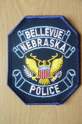 Patches:BELLEVUE NEBRASKA US POLICE PATCH (NEW*apx.9.5x8 cm)