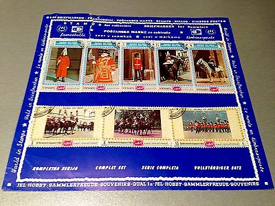 Yemen 1970 Philympia International Stamp Exhibition - Collection Of 8 Stamps