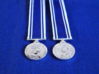Police Service Long Service Good Conduct ( Lsgc ) Medal Miniature Medal