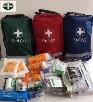 Outdoor First Aid Kit -1/20 Persons -Insect Wipes, Sun Cream - Camping,Schools