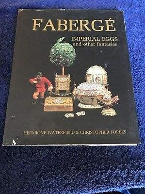 vintage book: FABERGE Imperial Eggs and other Fantasies, Hermione Waterfield.