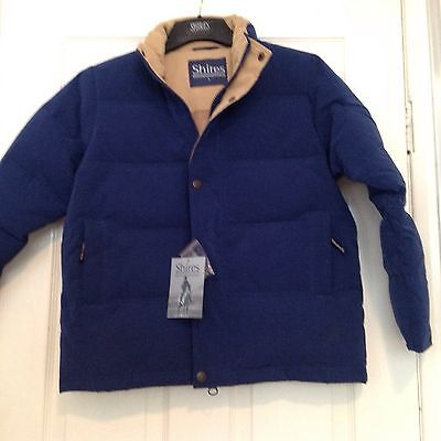 *** Shires Stormaway Jacket Childs Size L Navy