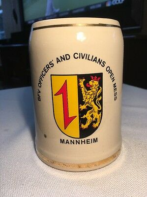 0.5 L Beer Stein Mug from Mannheim, Germany