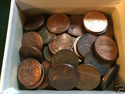 UNITED STATES - App.90 Lincoln Cents - 1970's to Date - Unsorted.