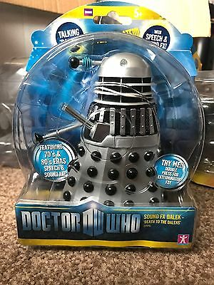 Doctor Who DALEK SOUND FX DEATH TO THE DALEKS Action Figure New 5""