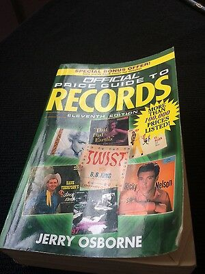 Osborne Official Price Guide to Records - 1995 edition