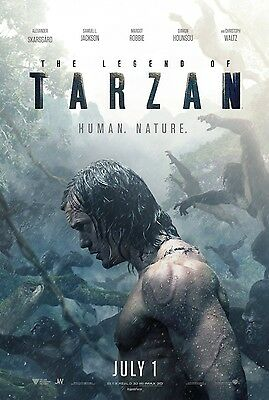 THE LEGEND OF TARZAN vg 27x40 ORIGINAL D/S MOVIE POSTER