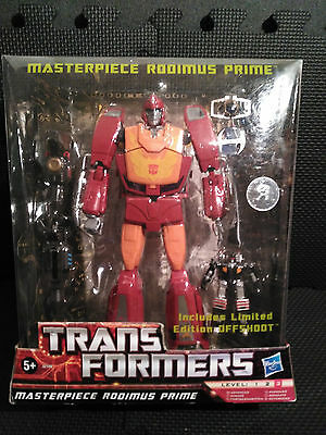 Transformers G1 Masterpiece RODIMUS PRIME / HOT ROD with Offshoot Targetmaster