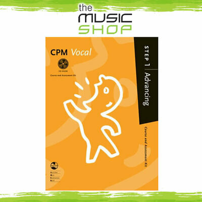 AMEB CPM Vocal - Step 1 Advancing - Vocal Music Book with CD