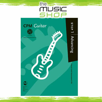 AMEB CPM Guitar - Step 1 Advancing - Guitar Music Book with CD