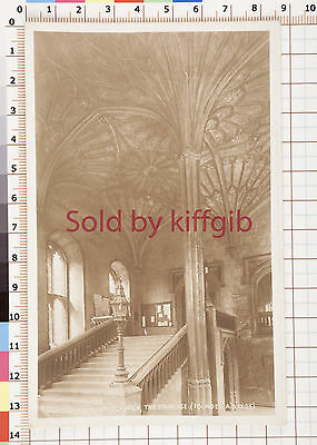 Oxford, Christ Church the staircase vintage postcard