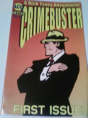 CrimeBuster A Dick Tracy Adventure Acg Classic # 1 vf