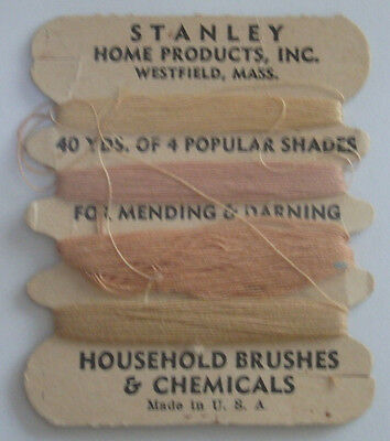 1940's Advertisement Thread Pack Stanley Home Products Westfield Massachusetts