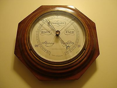 Henry Birks and Sons Octagon Barometer