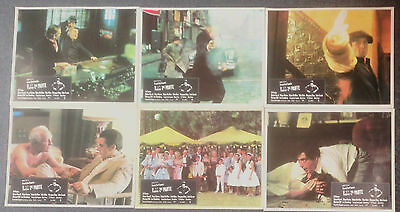 LOT OF 6 ORIGINAL LOBBY CARDS THE GODFATHER PART 2 Al Pacino