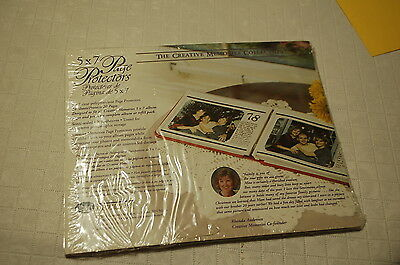 Creative Memories 5x7 Clear Page Protectors 7 NEW Sheets/Protects 14 Pages