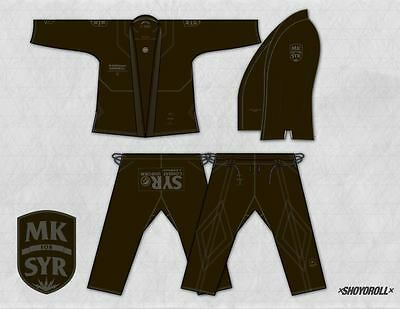SHOYOROLL BATCH #43 SYR x Dual Forces MagiKimono - BLACK  A3
