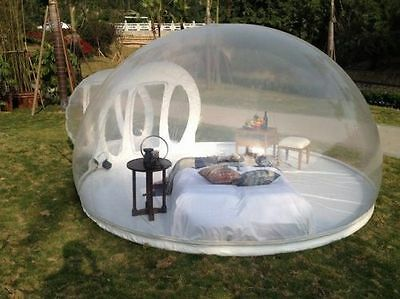 Brand New Outdoor Camping Inflatable Tent Romantic Spring Fun Stargazing