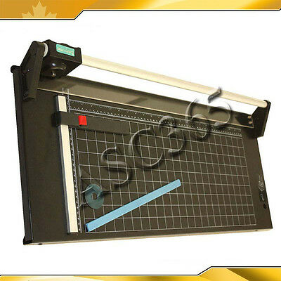24Inch 620mm Paper Cutter Full Steel Rotary Trimmer Rotary with One Blade