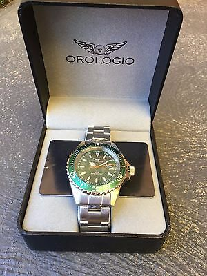 RRP $998 Orologio X2 Swiss Collection Men`s Date 200m Sports Watch NEW