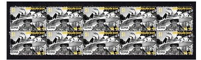 Dame Edna Everage Aust Icon Strip Of 10 Mint Stamps 3