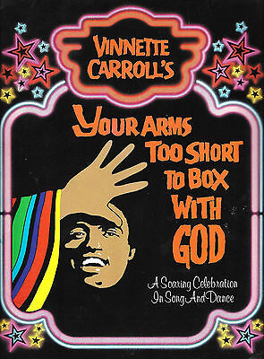 "Patti LaBelle ""YOUR ARMS TOO SHORT TO BOX WITH GOD"" 1982 Souvenir Program"