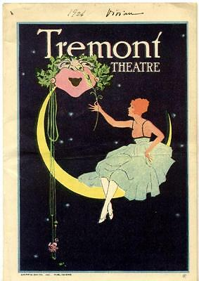 """1926 INA CLAIRE """"The Last of Mrs. Cheney"""" FREDERICK LONSDALE Post-Broadway Tour"""