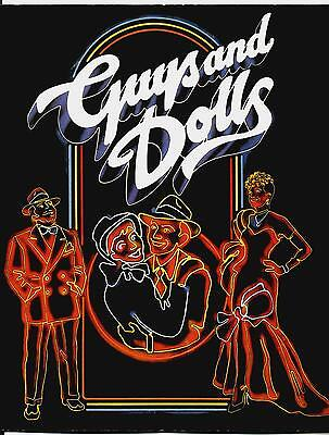 LULU in Frank Loesser's GUYS AND DOLLS London 1984 National Theatre Production