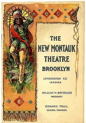 """1914 """"EVERYWOMAN"""" A Play with Music on Tour ~ Montauk Theatre, Brooklyn"""