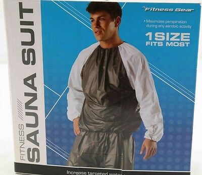 Fitness Gear Sauna suit 1 size fits most NEW