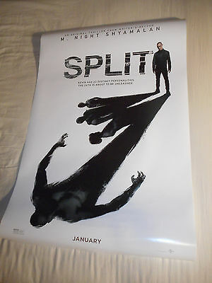 "M Night Shyamalan SPLIT official movie poster one sheet DS 27""x40"" James McAvoy"