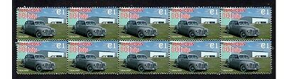 1940 Dodge Auto Icons Strip Of 10 Mint Stamps #5