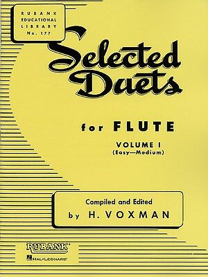 Selected Duets for Flute - Volume 1 - Easy to Medium - Flute Music Book