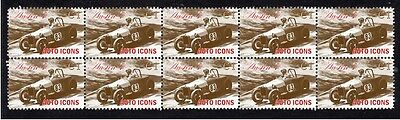 Austin 7, Auto Icons Strip Of 10 Mint Stamps 3