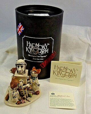 Harmony Kingdom Shock and Awe Figurine Signed Black Box Series 2250/2500 Ltd Ed