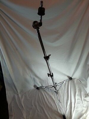 *Pacific PDP Straight Crash/Ride Cymbal Stand Heavy Duty Double-Braced Chrome*