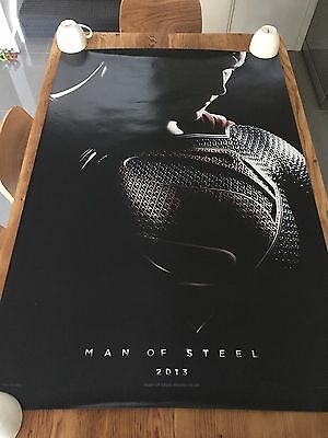 SUPERMAN Man of Steel 2013 Original TEASER 27x40 DS AUS Movie Cinema poster