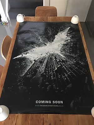 DARK KNIGHT RISES 2012 Original Official TEASER 27x40 DS AUS Movie Cinema poster
