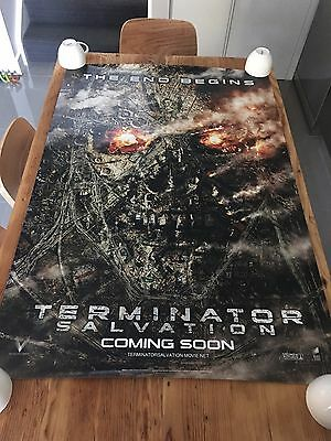 TERMINATOR SALVATION 2009 Original Official 27x40 DS AUS Movie Cinema poster