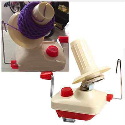 Portable Swift Yarn Fiber String Ball Wool Winder Knitting Holder Hand Operated