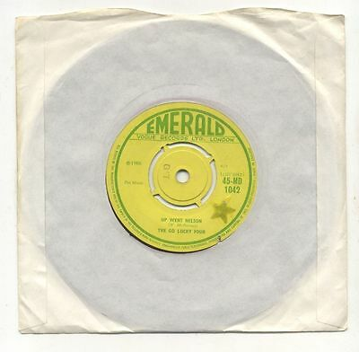 The Go Lucky Four - Up Went Nelson / The Famine Song Emerald Vogue 45-MD 1042